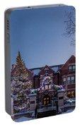Christmas Lights Series #6 - Minnesota Governor's Mansion Portable Battery Charger