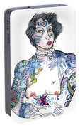 Minnie - An Homage To Maud Wagner, Tattoos  Portable Battery Charger