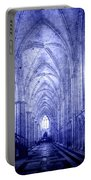 Minster In Blue Portable Battery Charger