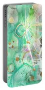 Mint Bling Portable Battery Charger