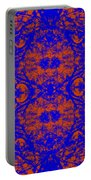 Mirage In Blue - Abstract Portable Battery Charger