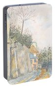 Mirage Of Utrillo Portable Battery Charger