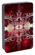Mirror Gateway / Crop / Red Stars Portable Battery Charger