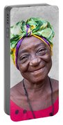 Miss Cuba Portable Battery Charger