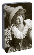 Miss Marie Studholme As Lady Madcap 1905 Portable Battery Charger