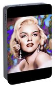 Miss Monroe Portable Battery Charger