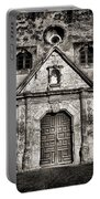 Mission Concepcion - Bw Toned Border Portable Battery Charger