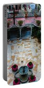 Mission Inn Chapel Court Yard  Portable Battery Charger