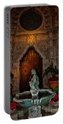Mission Inn Chapel Fountain Portable Battery Charger