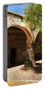 Mission San Juan Capistrano - Quiet Walkway Portable Battery Charger