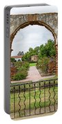 Mission San Luis Rey Carriage Arch Portable Battery Charger