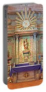 Mission San Miguel Arcangel Altar, San Miguel, California Portable Battery Charger