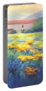 Mission Wildflowers Portable Battery Charger