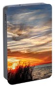 Mississippi Gulf Coast Sunset Portable Battery Charger