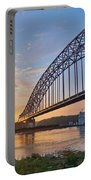 Mississippi Sunrise Crossing Portable Battery Charger
