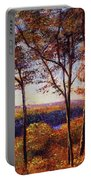 Missouri River In Fall Portable Battery Charger