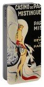 Mistanguette At The Casino De Paris Portable Battery Charger