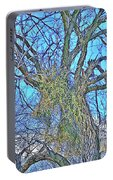 Mistletoe Tree Portable Battery Charger
