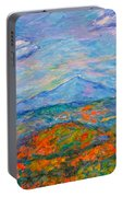 Misty Blue Ridge Autumn Portable Battery Charger