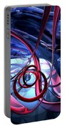 Misty Dreams Abstract Portable Battery Charger