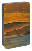 Misty Island Sunset Portable Battery Charger