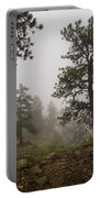 Misty Mountain Path Portable Battery Charger