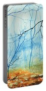 Misty November Woods Portable Battery Charger