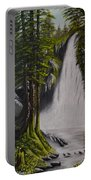 Misty Waterfall Portable Battery Charger