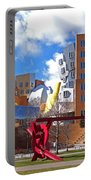 Mit Stata Center Cambridge Ma Kendall Square M.i.t. Sculpture Portable Battery Charger