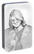 Mitch Hedberg In His Own Jokes Portable Battery Charger