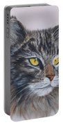 Mitze Maine Coon Cat Portable Battery Charger