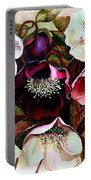 Mixed Hellebore Portable Battery Charger