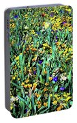 Mixed Wildflowers In Texas Portable Battery Charger
