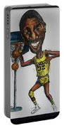 Mj Caricature Portable Battery Charger