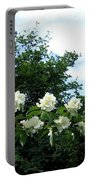 Mock Orange Blossoms Portable Battery Charger