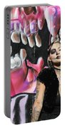 Model Day Of The Dead  Portable Battery Charger