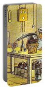 Model Kitchen, 1900s French Postcard Portable Battery Charger