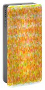 Modern Abstract Pointilist Color Combination 1 Portable Battery Charger