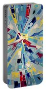 Modern Art One Portable Battery Charger