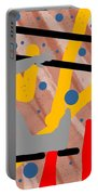 Modern Art Viii Portable Battery Charger