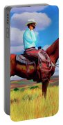 Modern Cowboy Portable Battery Charger