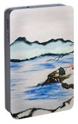 Modern Japanese Art In The Shadow Of The Past - Utsumi And Kano School Portable Battery Charger