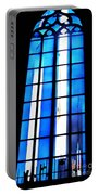 Modern Johannes Schreiter Window Mainz 2 Portable Battery Charger