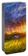 Modern Landscape Van Gogh Style Portable Battery Charger