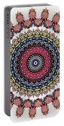 Modern Mandala Art 28 Portable Battery Charger