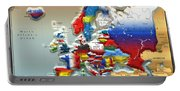 Modern Portrait Of Modern Europe - 3d Portable Battery Charger
