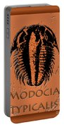 Modocia Typicalis Fossil Trilobite Portable Battery Charger