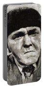 Moe Howard, Vintage Entertainer Portable Battery Charger