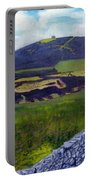 Moel Famau Hill Painting Portable Battery Charger