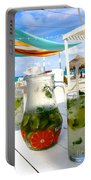 Mojitos On The Beach- Punta Cana Portable Battery Charger